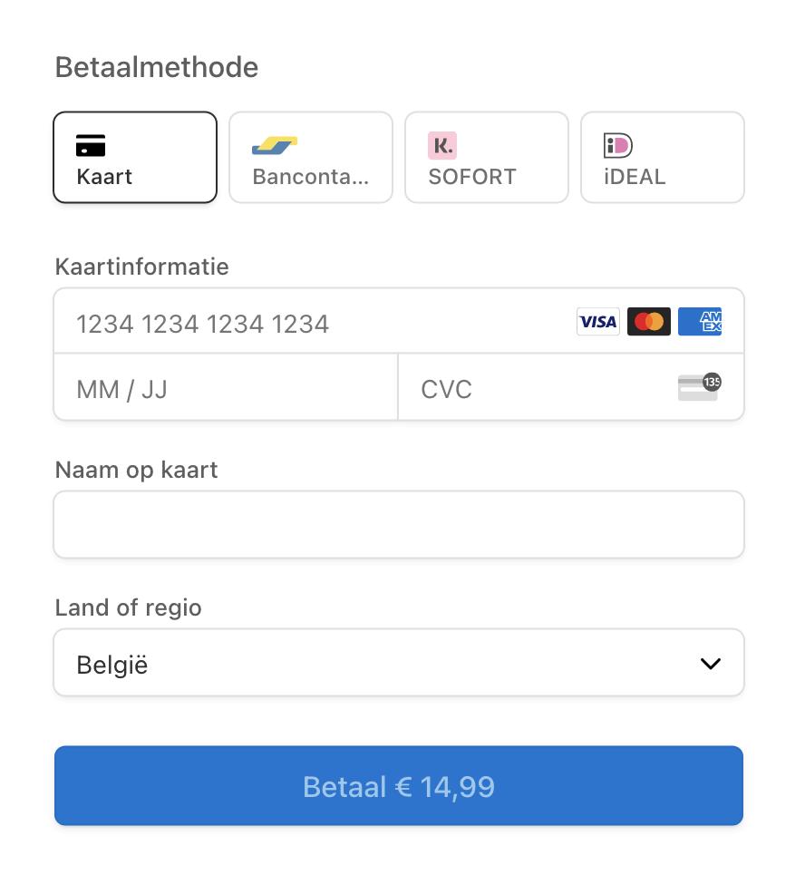 Nieuwe betaalmethodes: iDEAL, Sofort & Klarna 💸