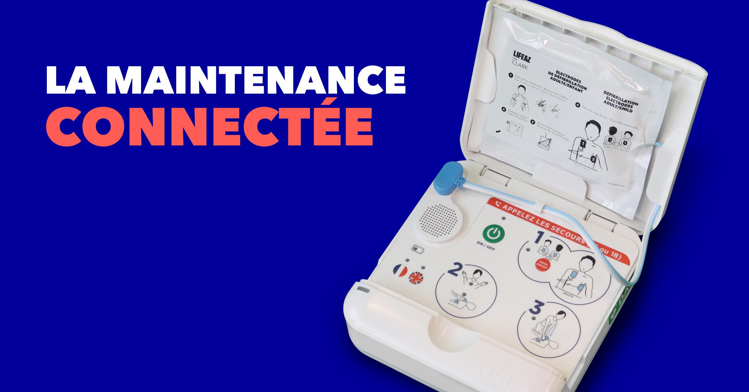 Un défibrillateur connecté pour une maintenance simplifié