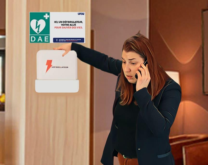 Rôle du témoin (appel des secours et aller chercher le défibrillateur)