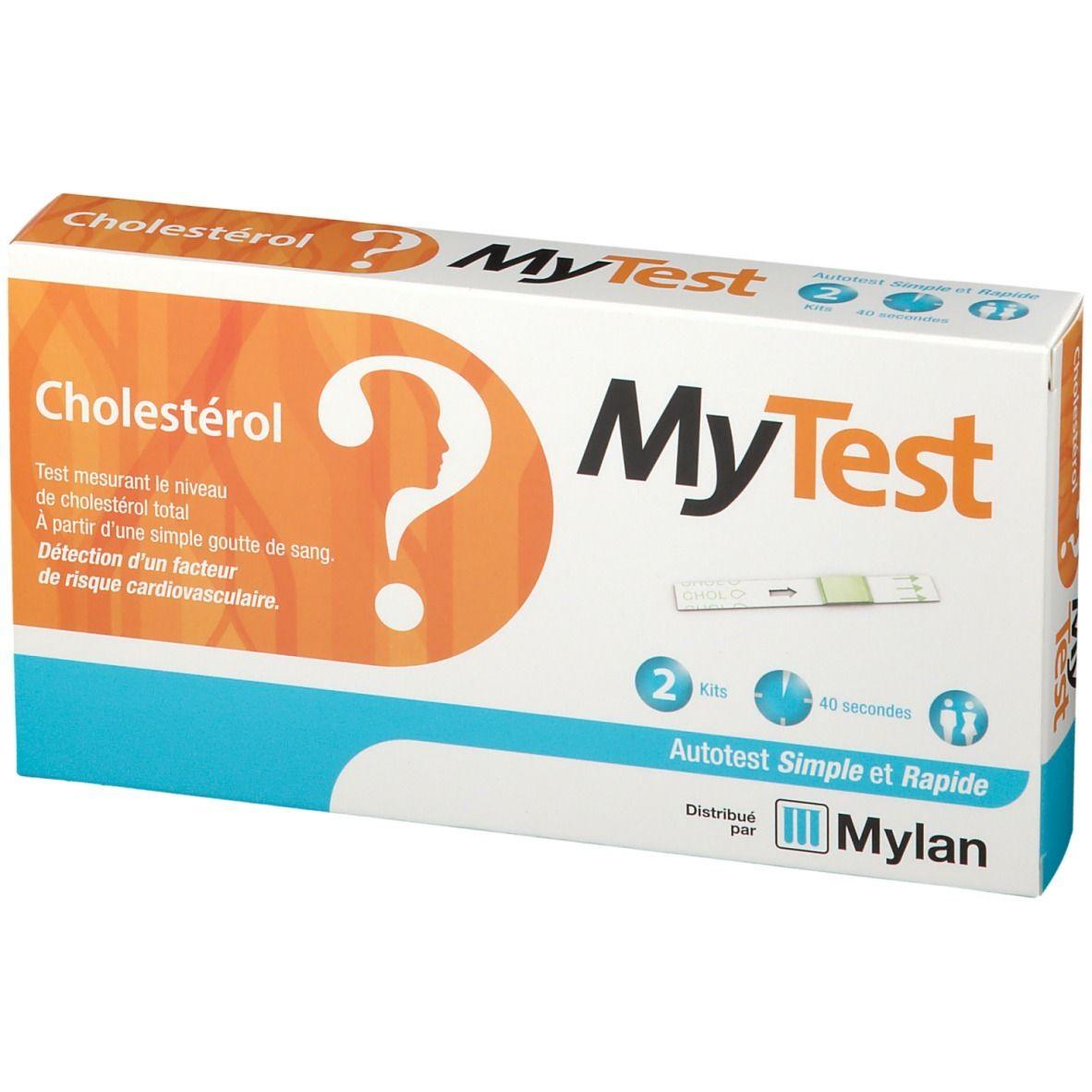 Un autotest de cholestérol