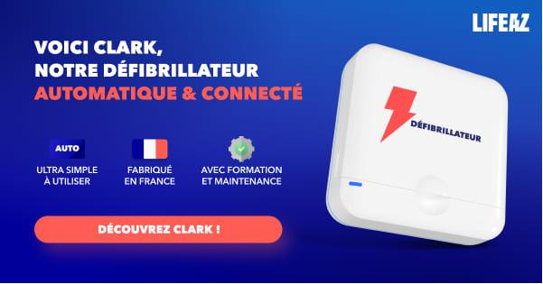 Clark, le défibrillateur conçu pour votre ERP