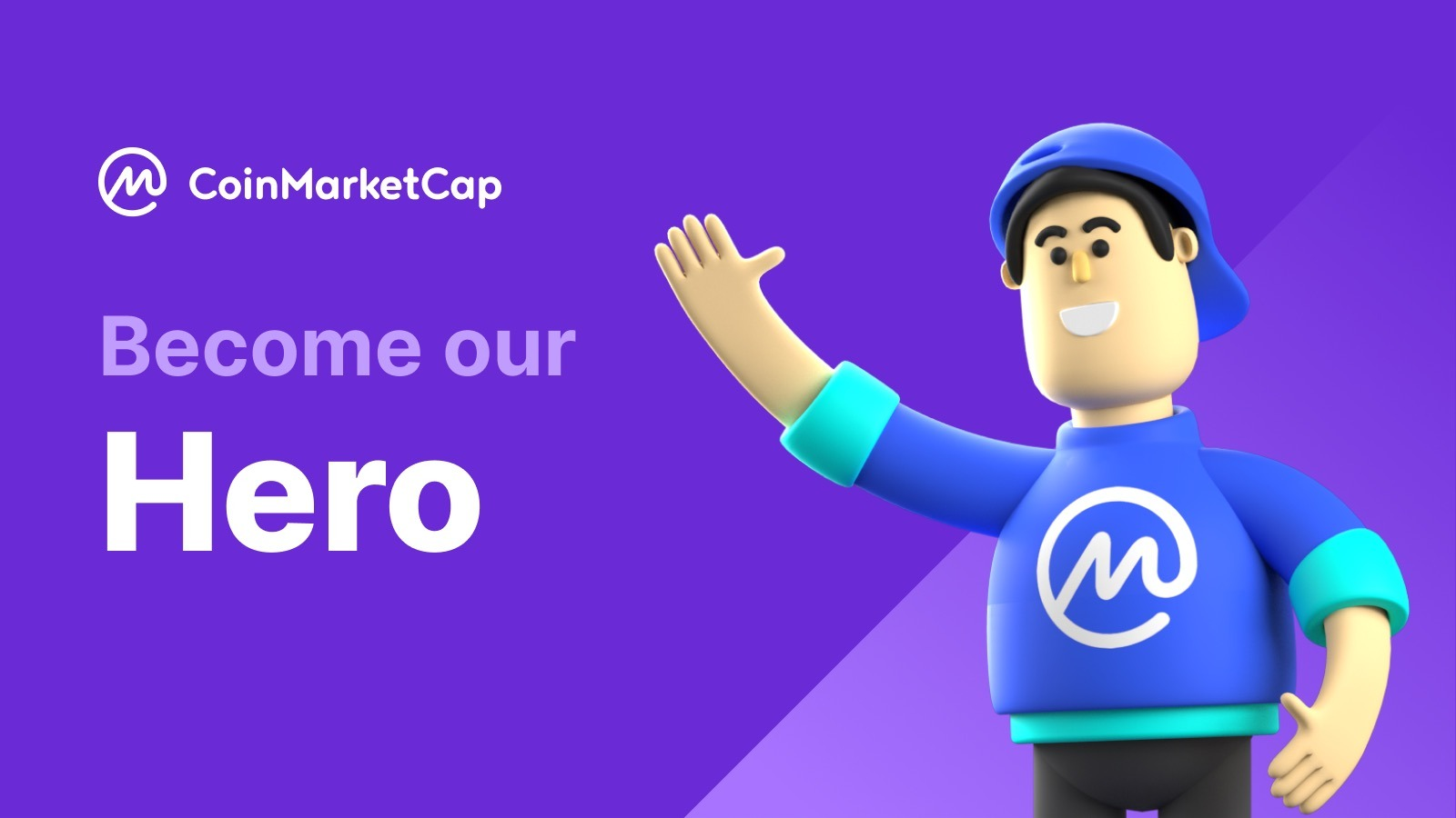 Become a CoinMarketCap Hero