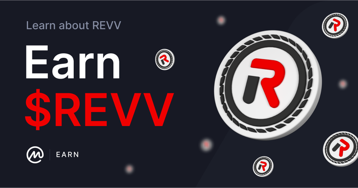 Learn about REVV & Earn REVV Tokens