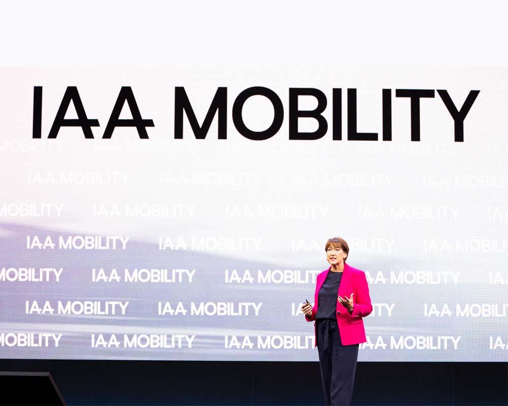 Die IAA Mobility in München