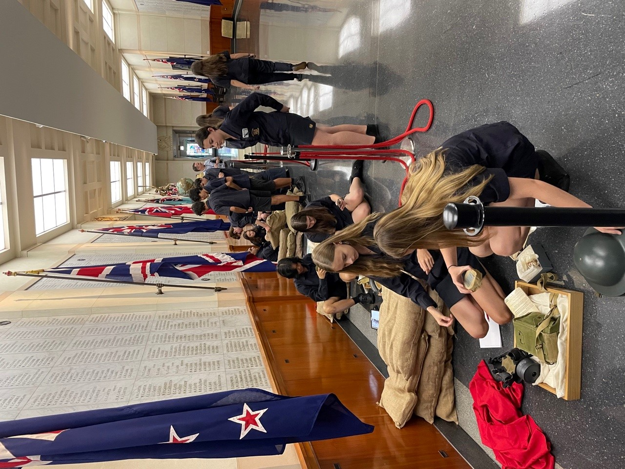 Students use our extensive handling collection to learn about the First World War.