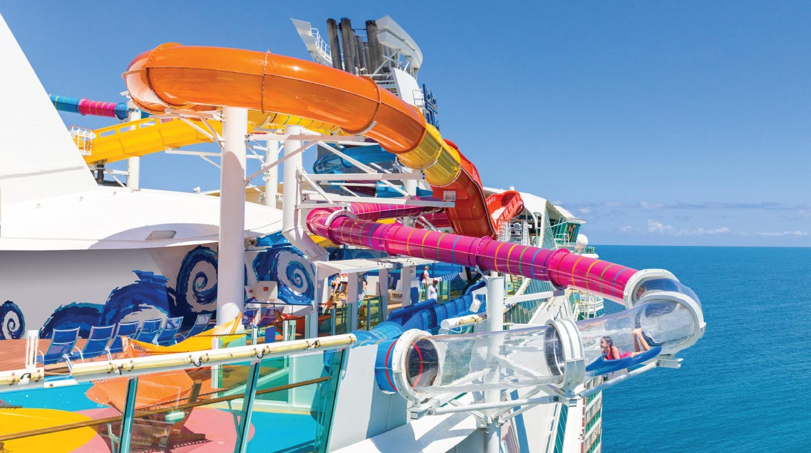 The Perfect Storm® Waterslide