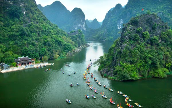 Hanoi & Ha Long Bay + Ninh Binh (Overnight Ha Long City)*