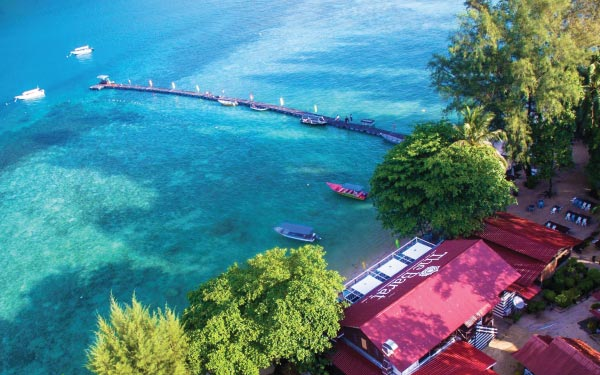 Perhentian Island Package @ The Barat Perhentian#