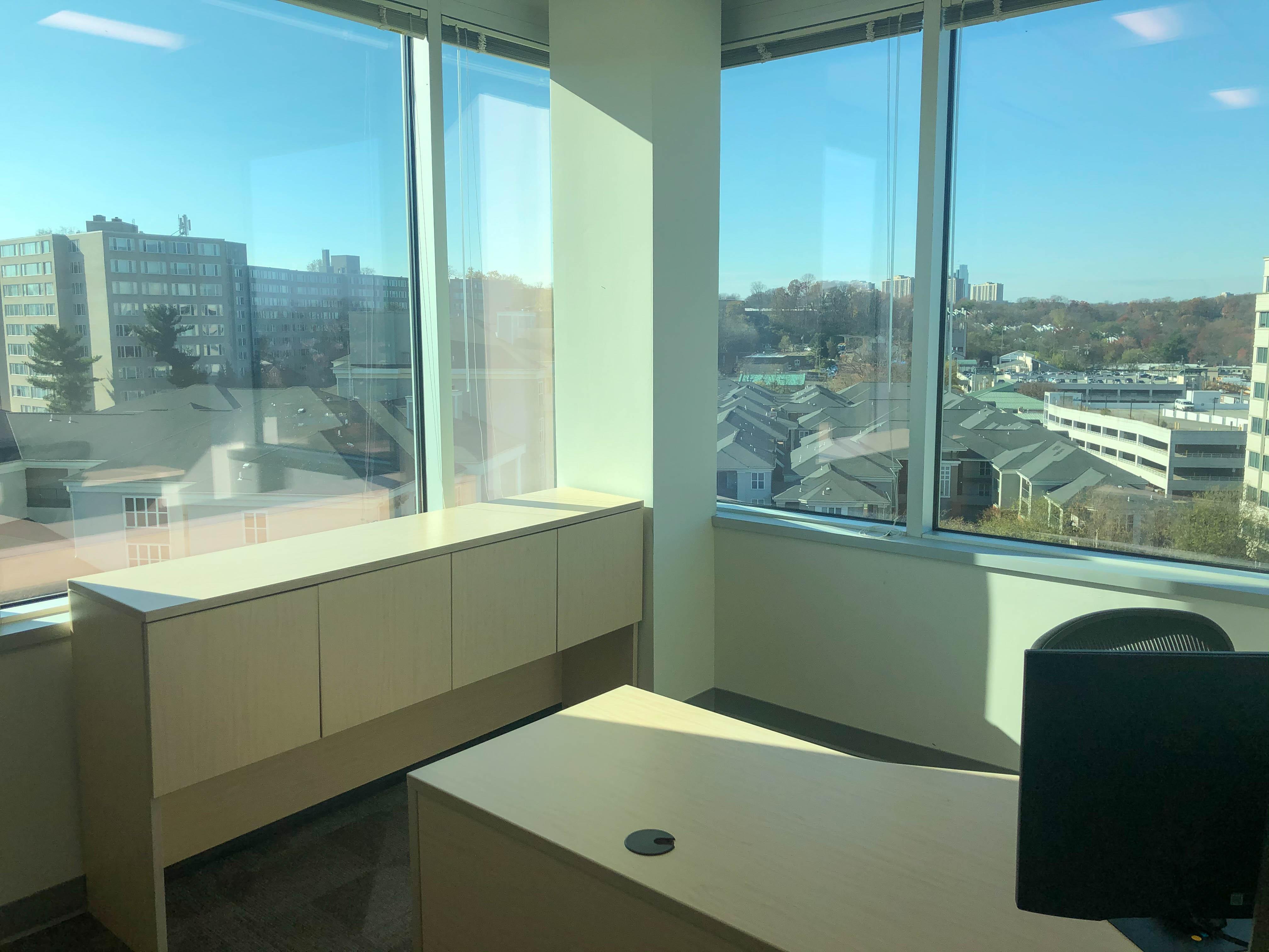 Corner Office View