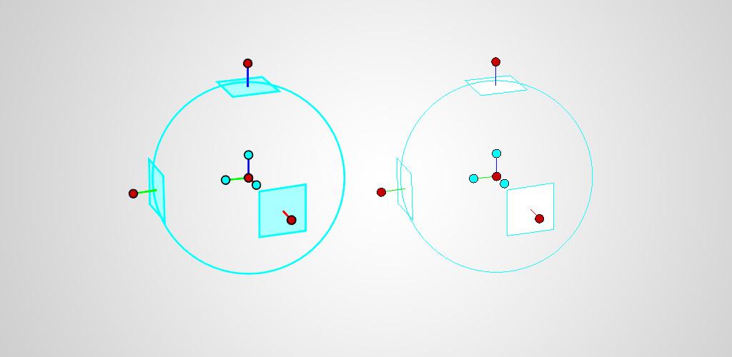 Ändra visuell stil på TriBall