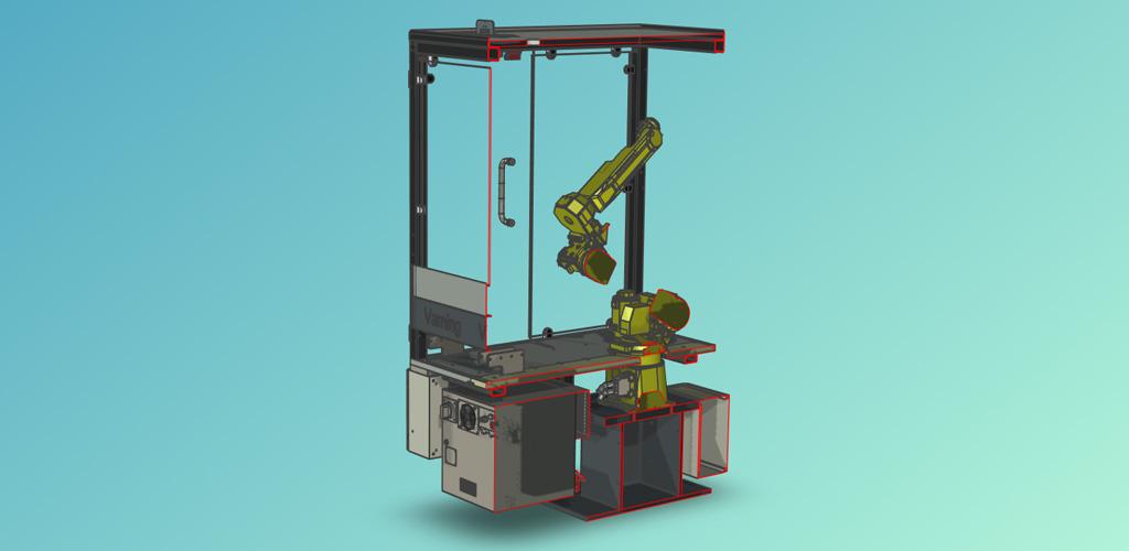 Snittverktyget i 3D-scenen