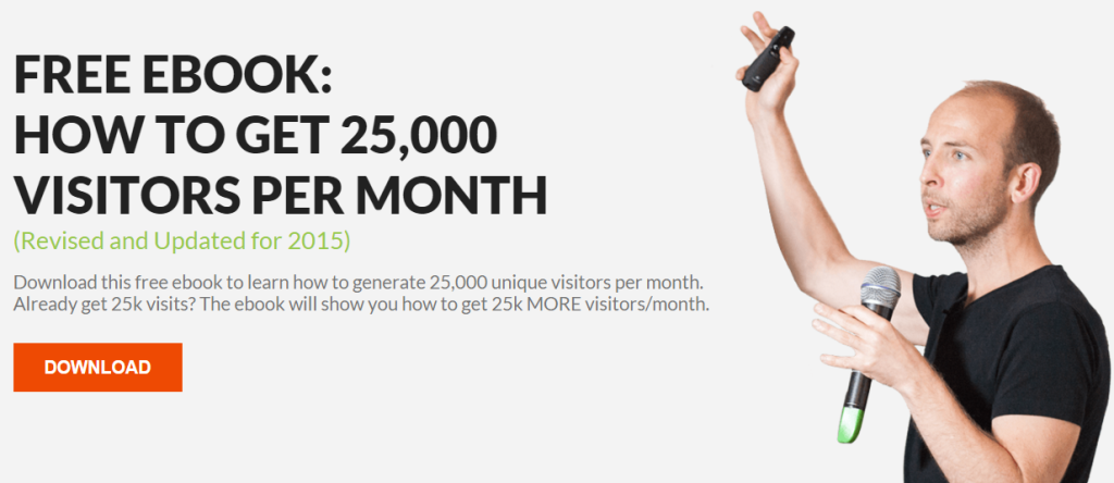 How to get 25000 visitors per month guide