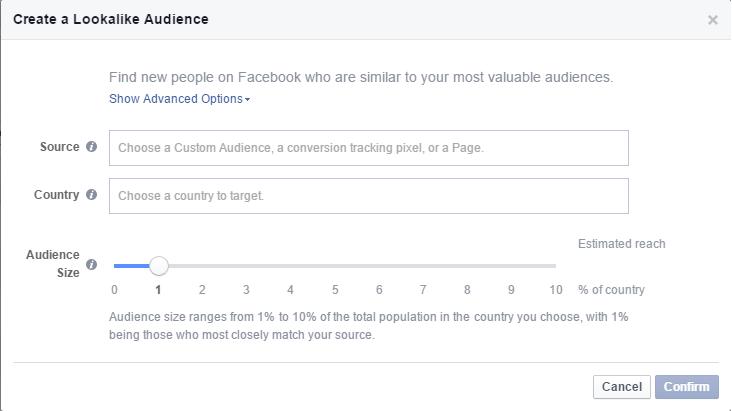 Facebook lookalike audience 2