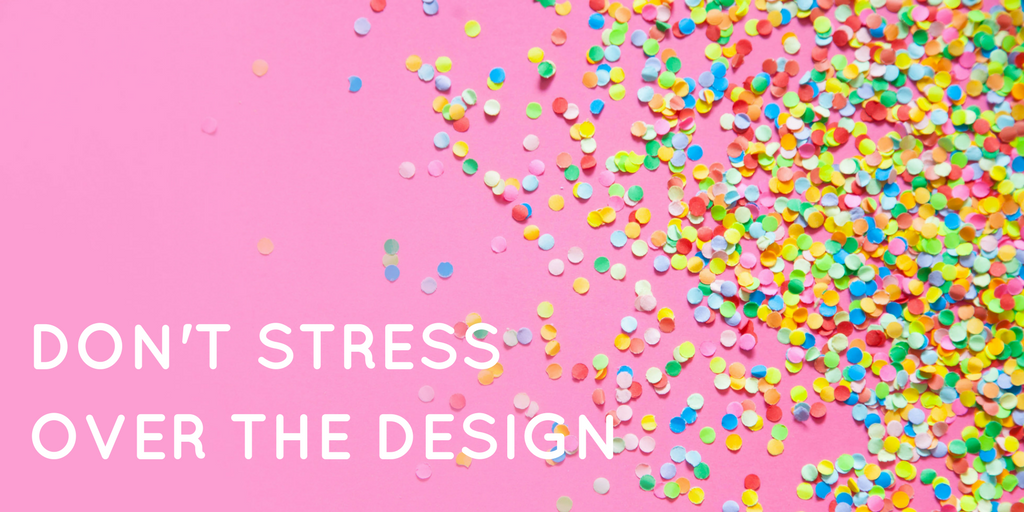 Don't stress over the design - welcome email tips
