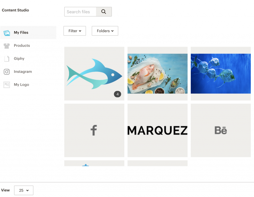 mailchimp image library