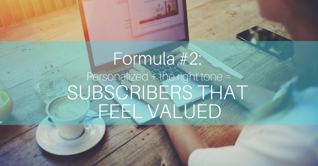 email subject lines formula 2