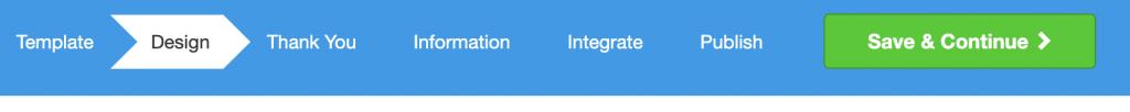 screenshot of mailmunch tab