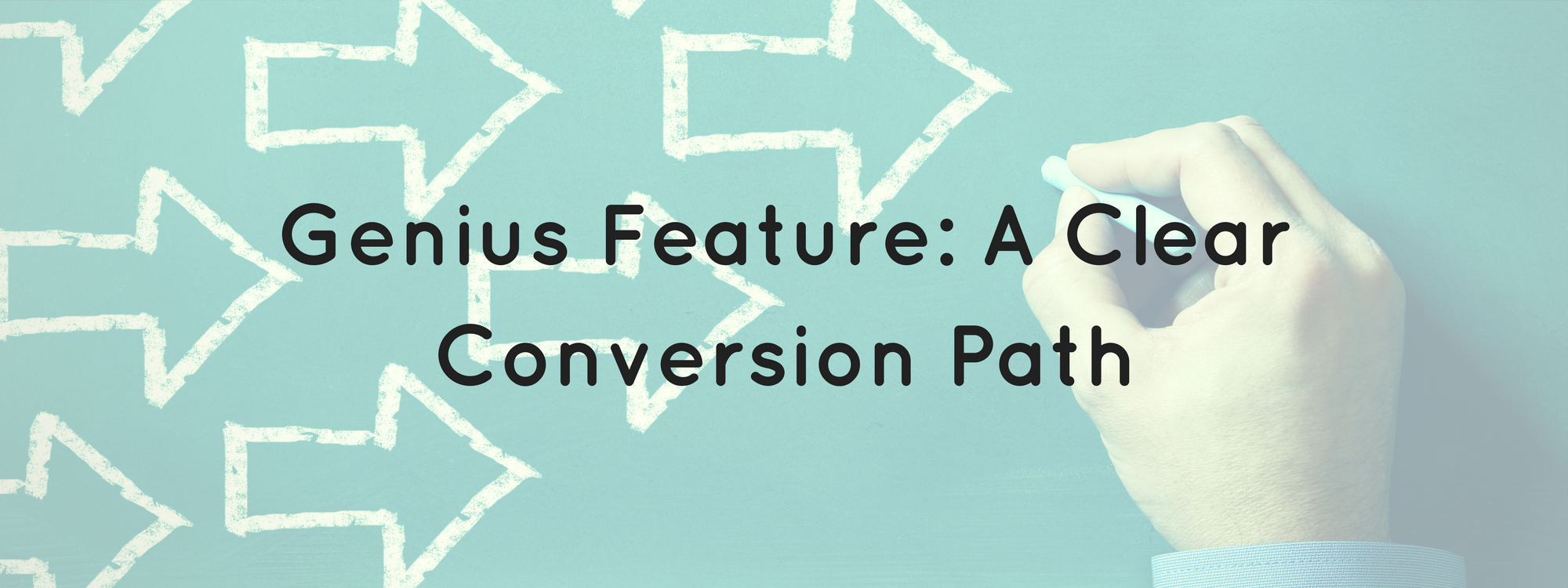 Websites need a clear conversion path