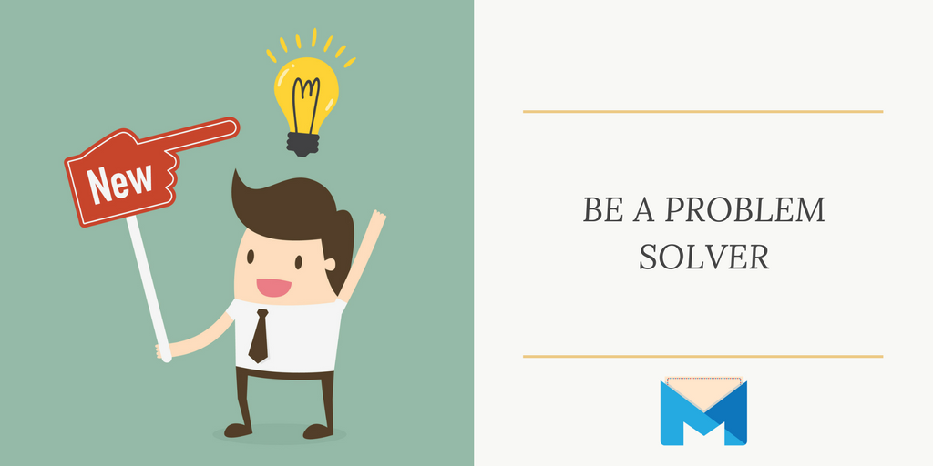 problem solver viral marketing tip: guy with an idea