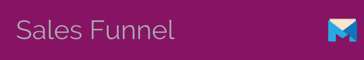 sales funnel banner