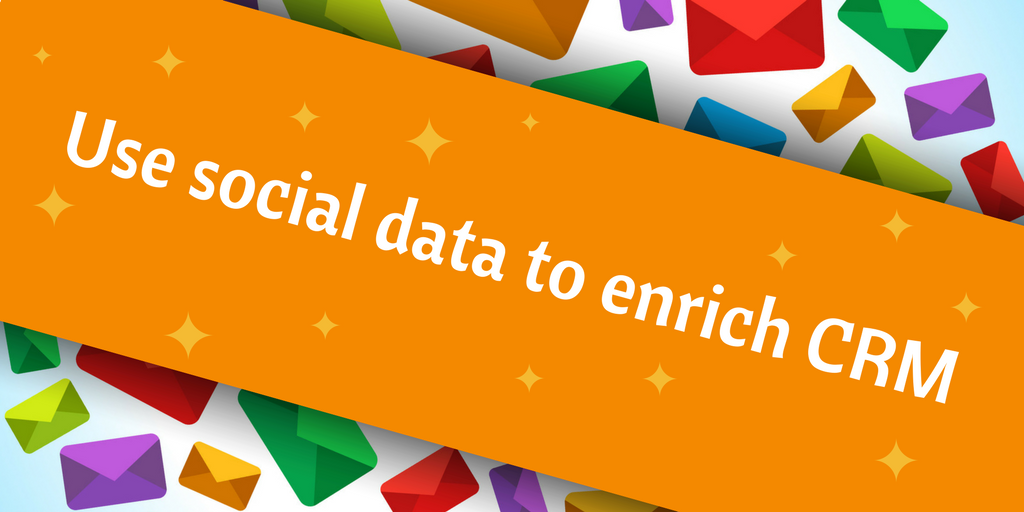 use social data - email marketing tip