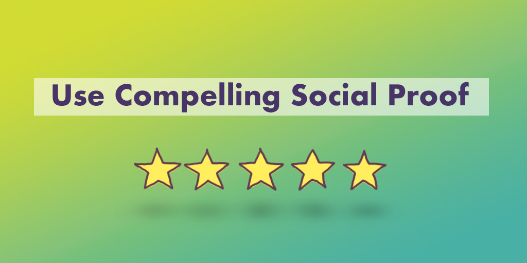 how to optimize landing page conversion rates social proof