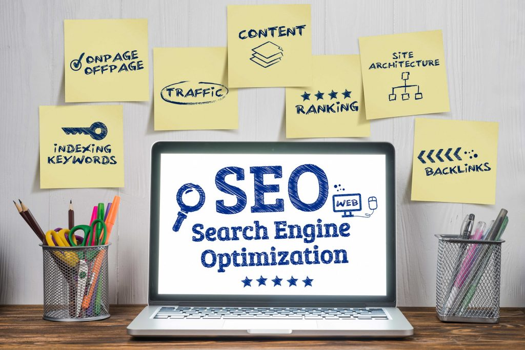 image showing components of SEO