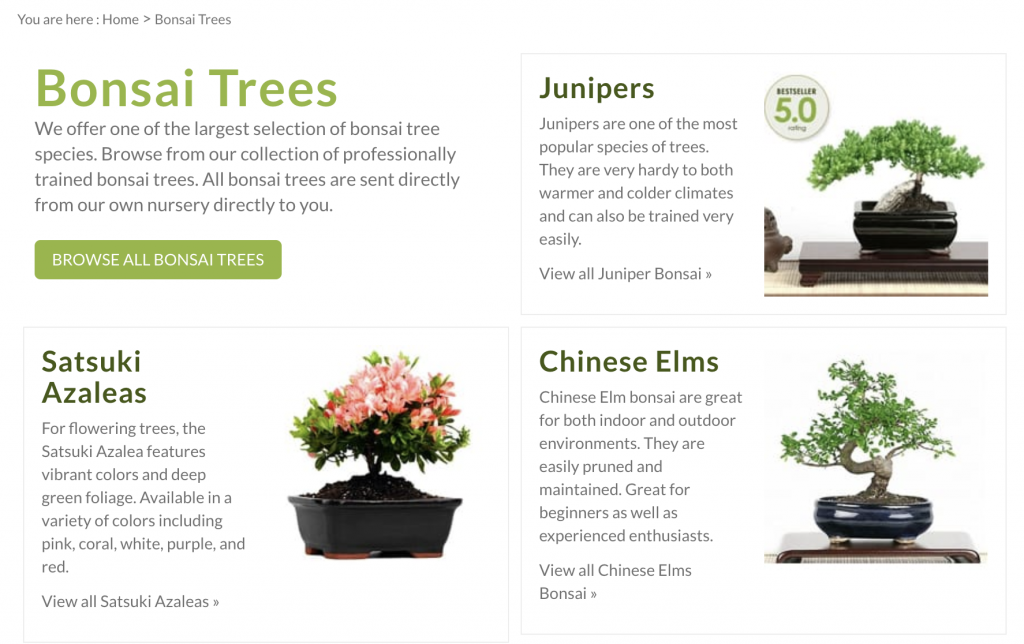 easternleaf's category page