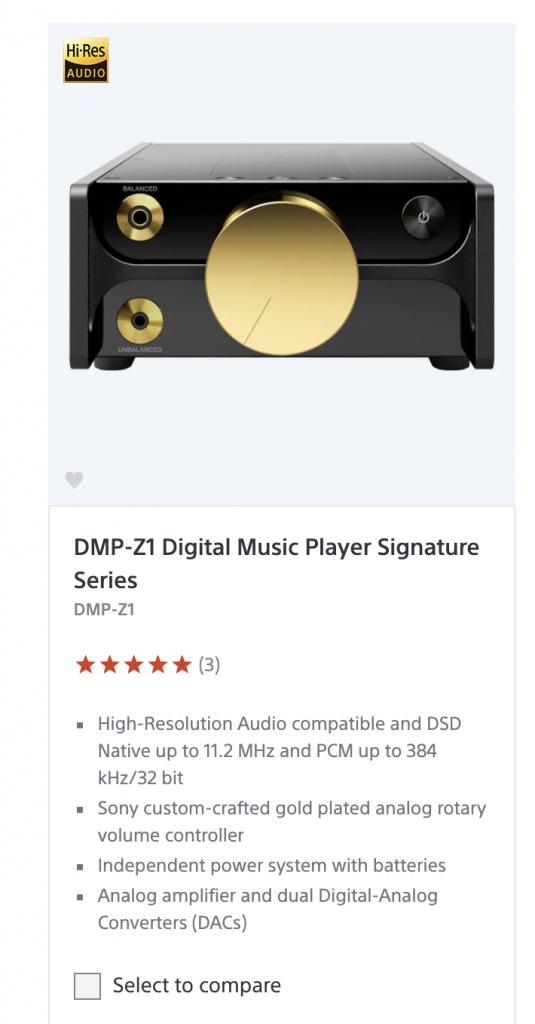 sony's digital music player
