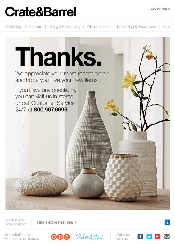 crate and barrel email