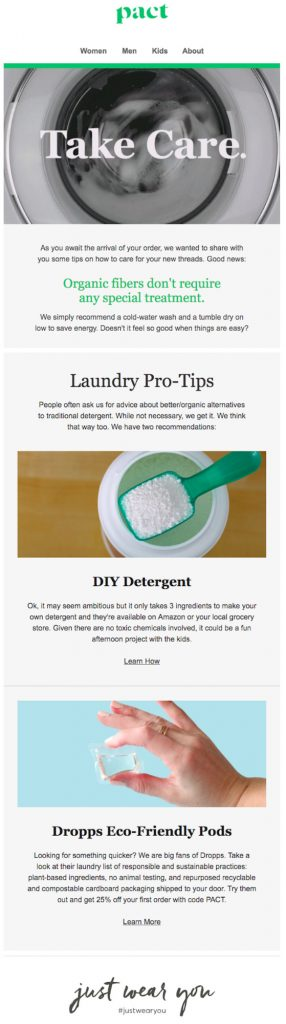 product care tips