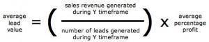 average lead value calculation