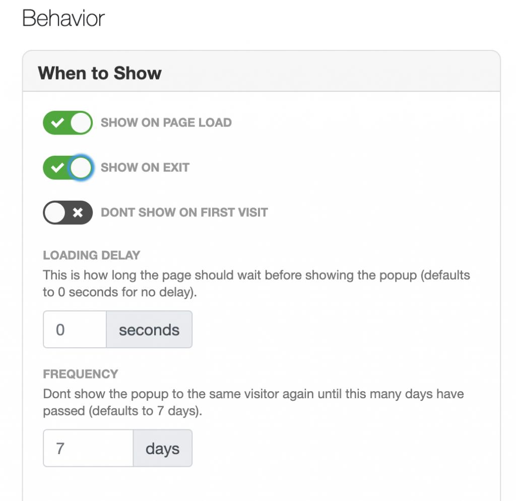 mailmunch app screenshot
