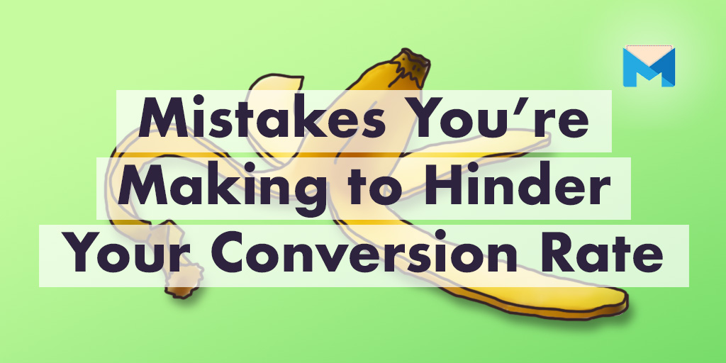 Conversion Rate Optimization mistakes