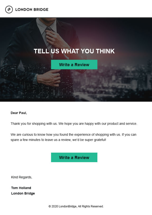 review email