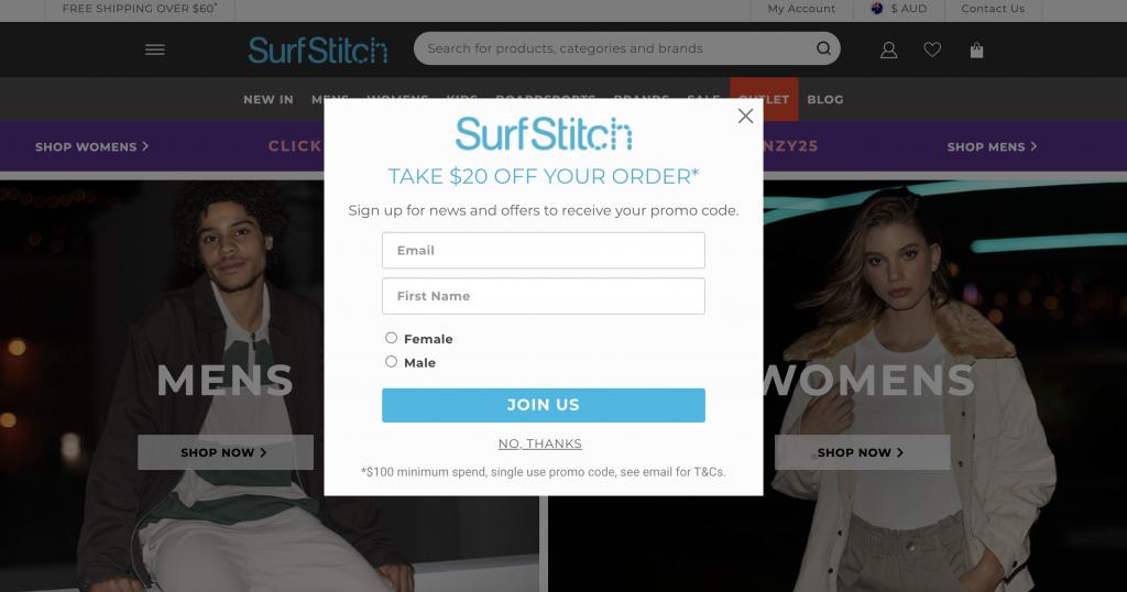 surfstitch pop up