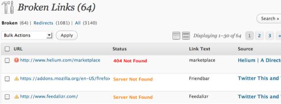 Best WordPress Plugins Broken Link Checker