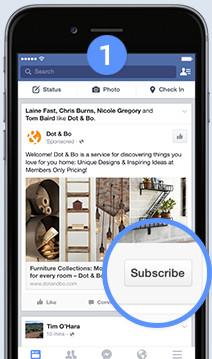 Facebook Lead Ad Step 1