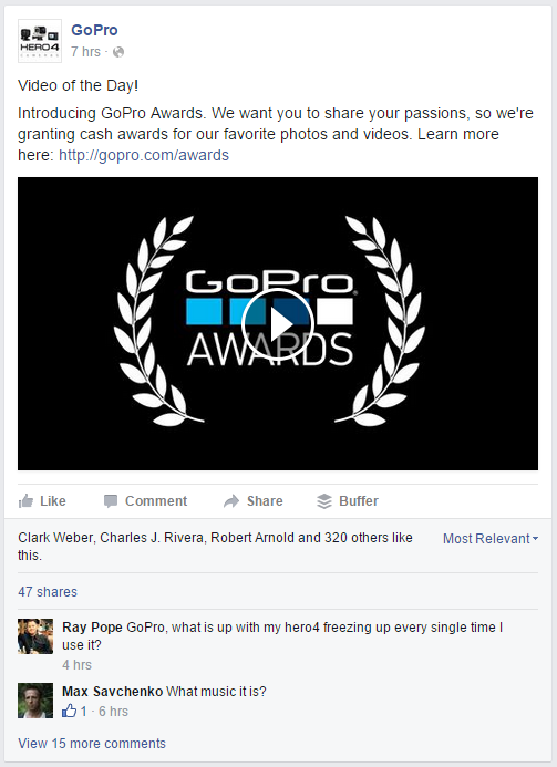 GoPro Facebook