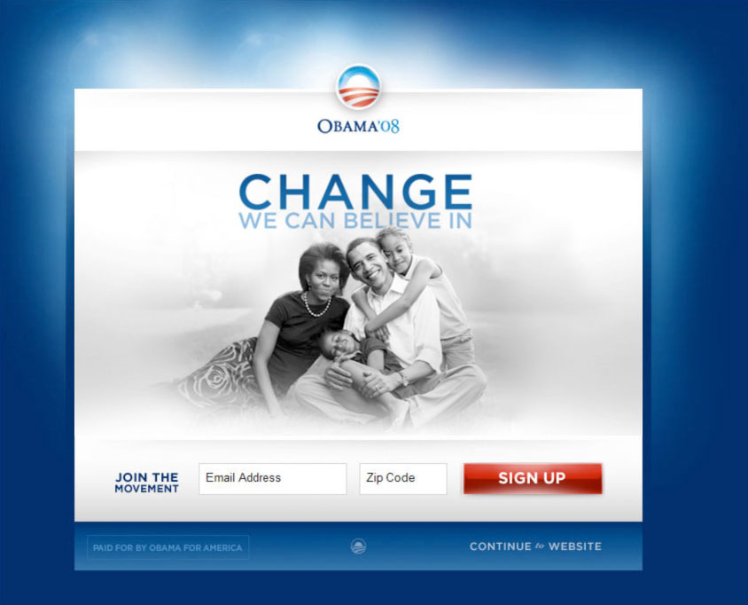Obama Campaign Media Variation