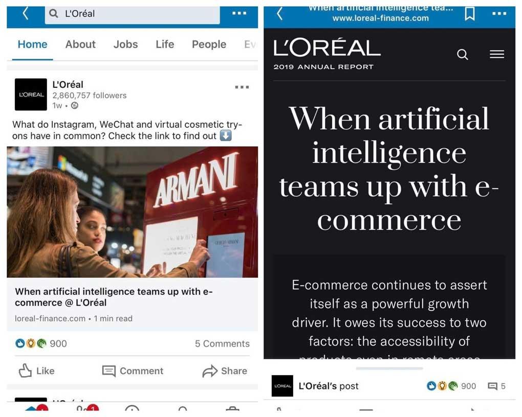 social media marketing on linkedin