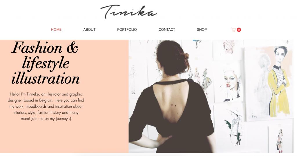 tinka solutions homepage