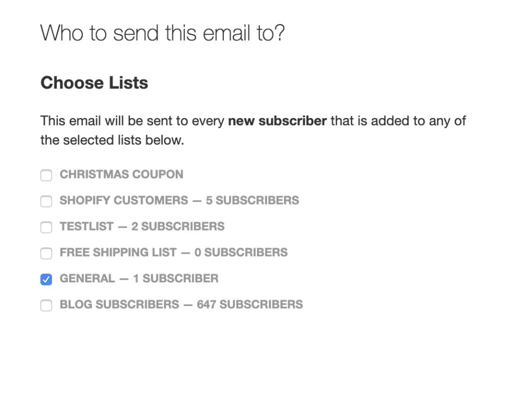 subscriber list screenshot
