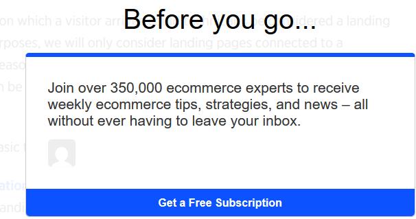 big commerce double opt in