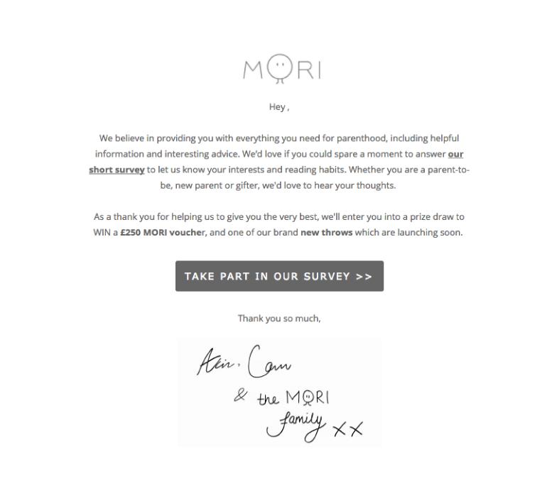 mori email
