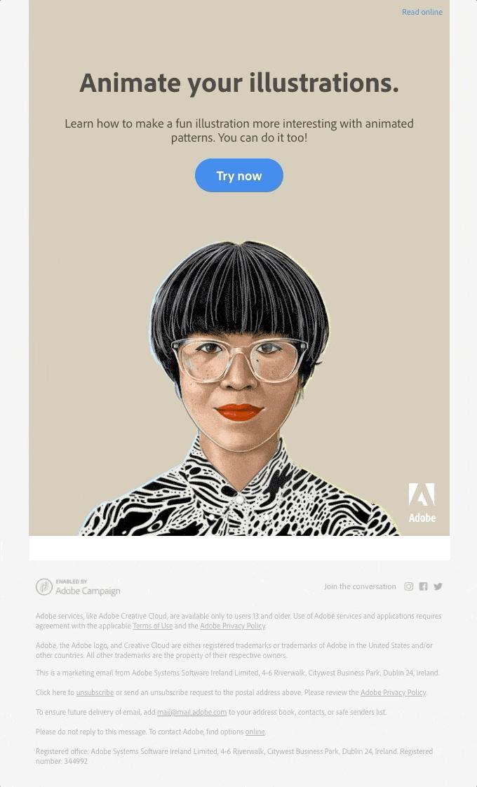 adobe email gif