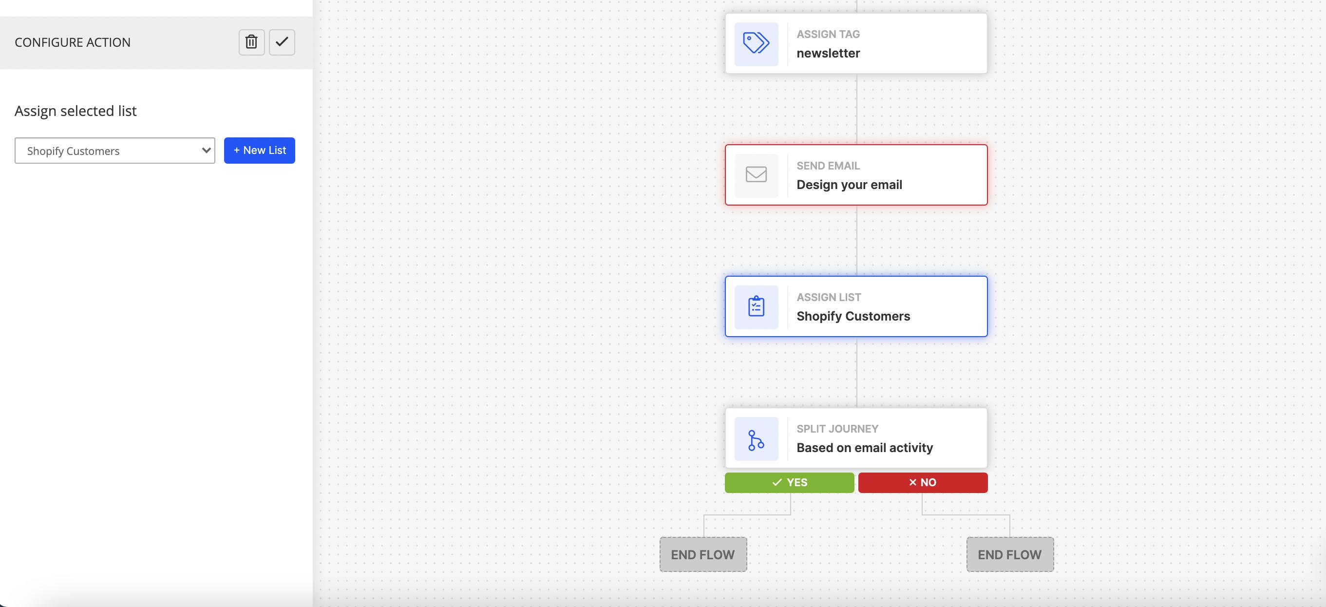 add custom delays, journey splits in the app