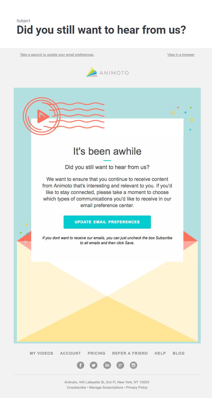 animoto email