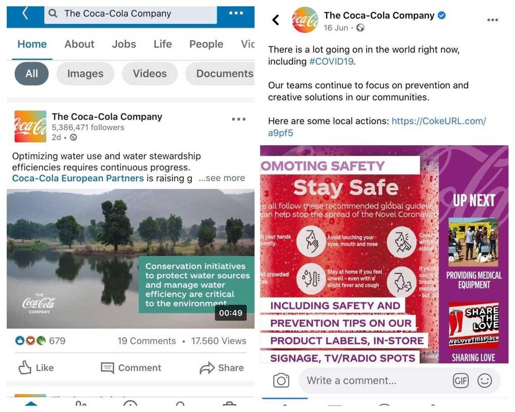 social media marketing with qualitative content