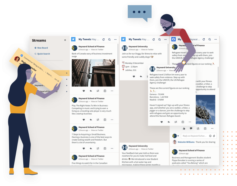 Hootsuite engage feature